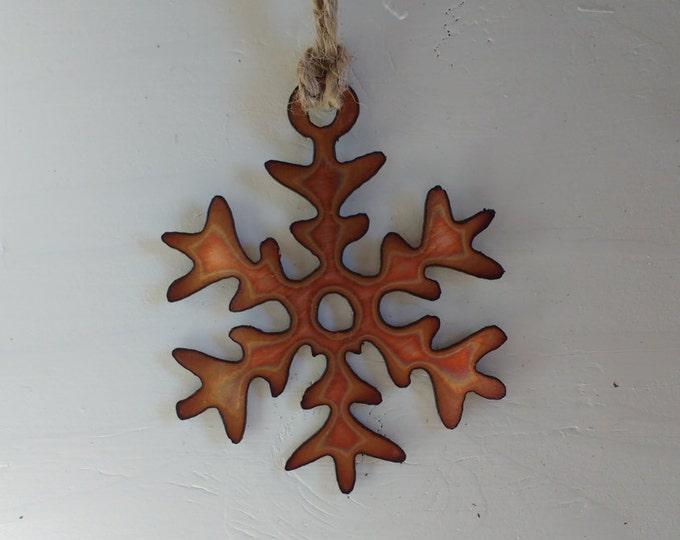 "Copper ""Elsa"" Snowflake"