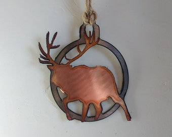 Bull Elk Ornament