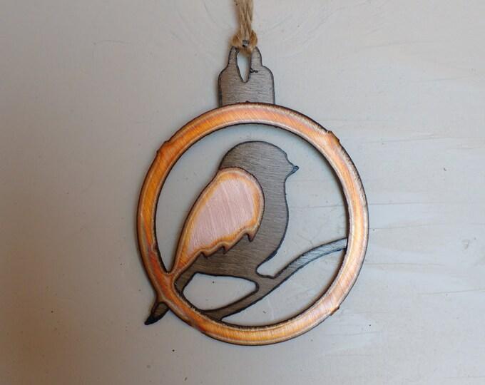 Fat Bird Ornament