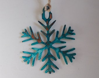 "Patina ""Snow Queen"" Ornament"
