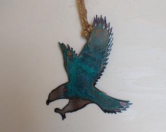 Patina Eagle Ornament