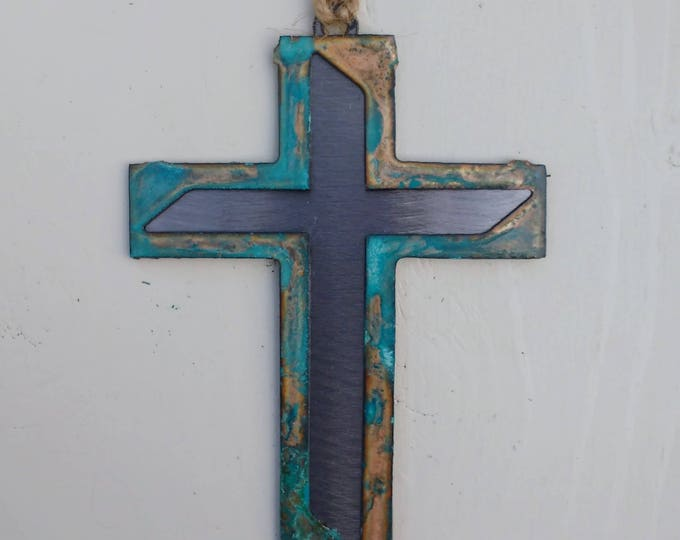 Patina Modern Cross