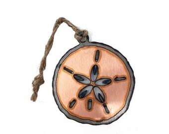 Copper Sand Dollar Ornament