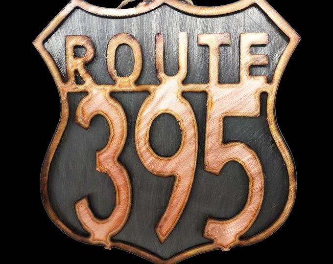 Copper Route 66 Ornament