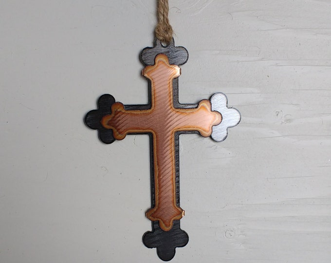 Spanish Cross Ornament