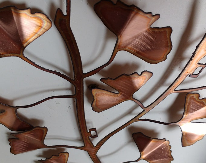 Ginkgo Leaves Wall Hanging