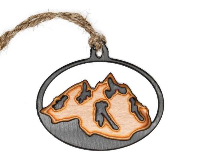 Mountains Grand Teton Ornament