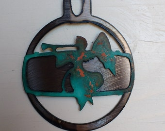 Patina Angel Ornament