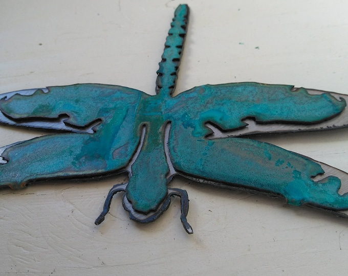 Patina Dragonfly Ornament