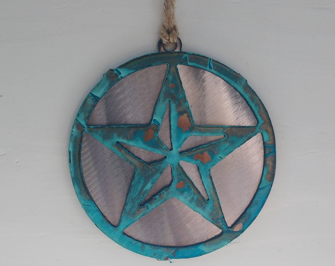 Patina Large Star Ornament