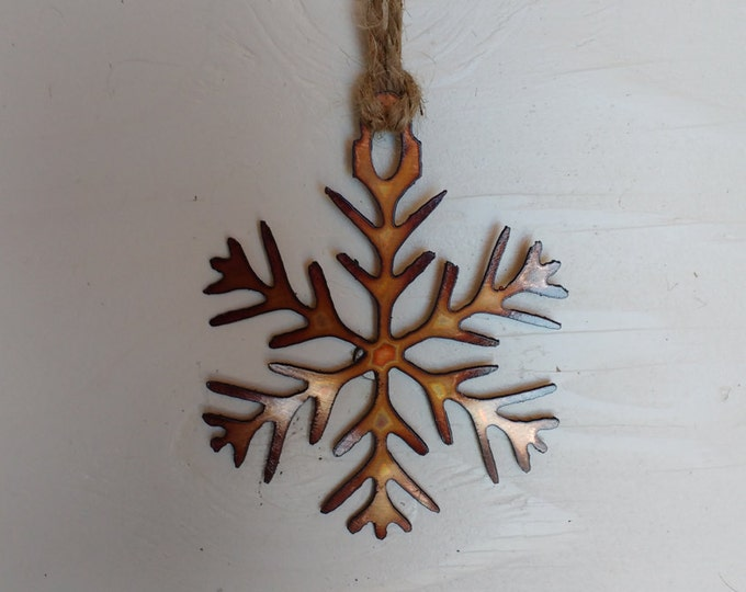 "Copper ""Snow Queen"" Ornament"