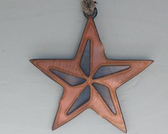 Copper Small Star Ornament