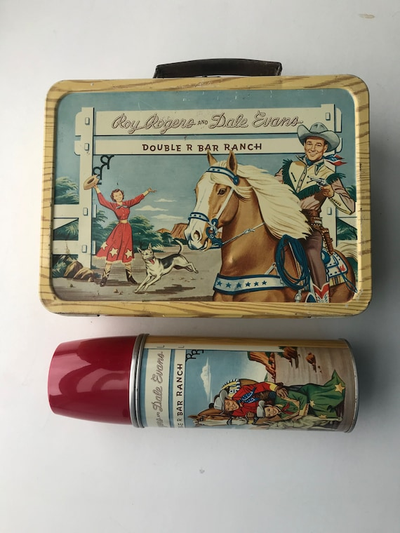 Vintage Roy Rogers Lunchbox (1953-58) - very good