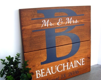 Wedding Gift - Bridal Shower Gift - 5th Anniversary Gift - Anniversary Gifts - Engagement Gifts - Couples Gift - Personalized Wedding Gifts