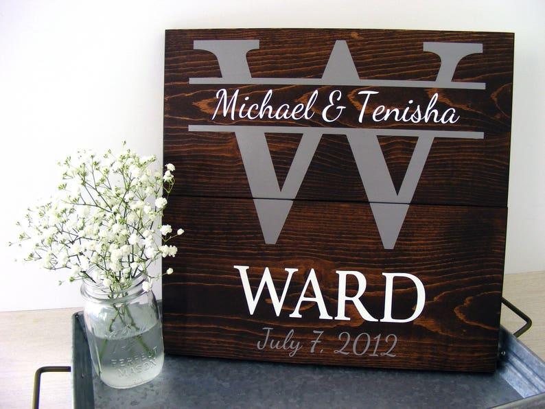 Personalized Wedding Gift Wedding Gift Ideas Newlywed Gift Etsy