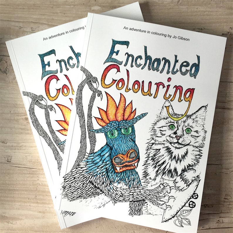 Colouring Book Of Enchanted Colourings An Art Therapy Coloring Book For Adults Adult Colouring In Book With 40 Mindfulness Illustrations