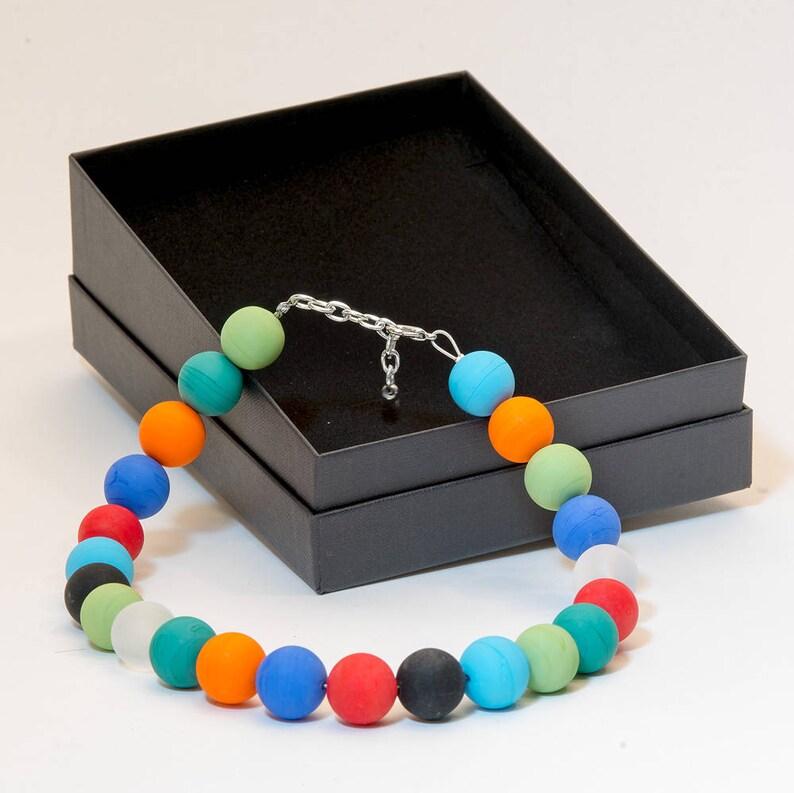 LA22 Murano glass necklace handmade in Murano by Cesare Sent image 0