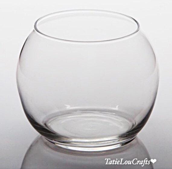 Glass Bubble Ball Vase 8 Inch Fish Bowl Terrariumplanter Etsy