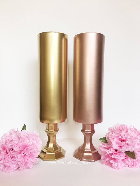 One 14 Tall Vase Wedding Centerpiecebridal Shower Etsy