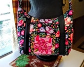 cross body floral quilted purse makeup pouch included theres a 3.00 rebate if bought directly thru etsy