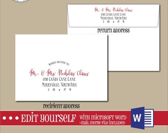 envelope template etsy