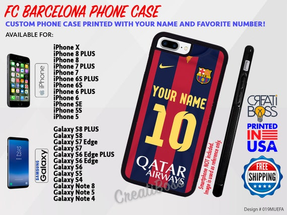 fc barcelona personalized custom with your name jersey etsy