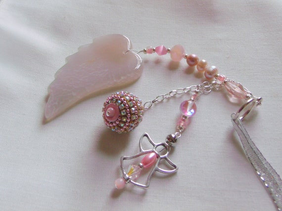 Custom baby gift - baby girl - agate angel wing - sweet my baby - car charm - nursery decorations - NICU nurse - for new parents