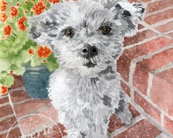 Pet Portrait/Custom Water Color