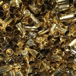 40 Smith & Wesson Once Fired Empty Brass Casings! Only Brass NO Nickel Cases.
