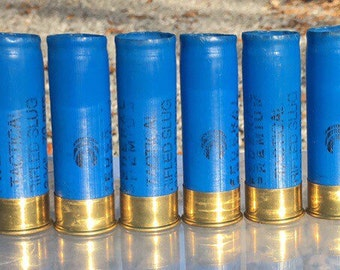 12ga Blue Federal Tactical Rifled Slug Shotgun Shells