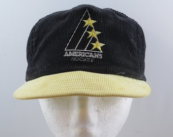 Vintage Tri-City American Hat - 2 Tone Corduroy - Adult Snapback bd8f728cf680