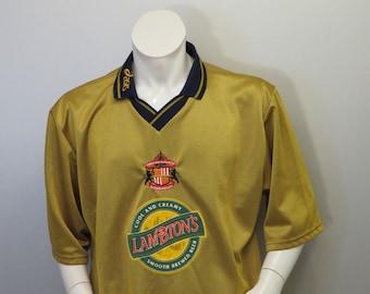 Vintage Sunderland FC Jersey by Asics - Alternate 1997 Away - Men's 2 XL