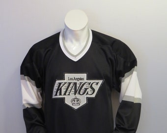 dc29eb07 Vintage LA Kings Jersey - Away Black by CCM - Men's Medium