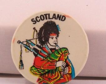 W.A.S.P vtg 1985 Randy Piper 1.5 pin button WASP  A151a