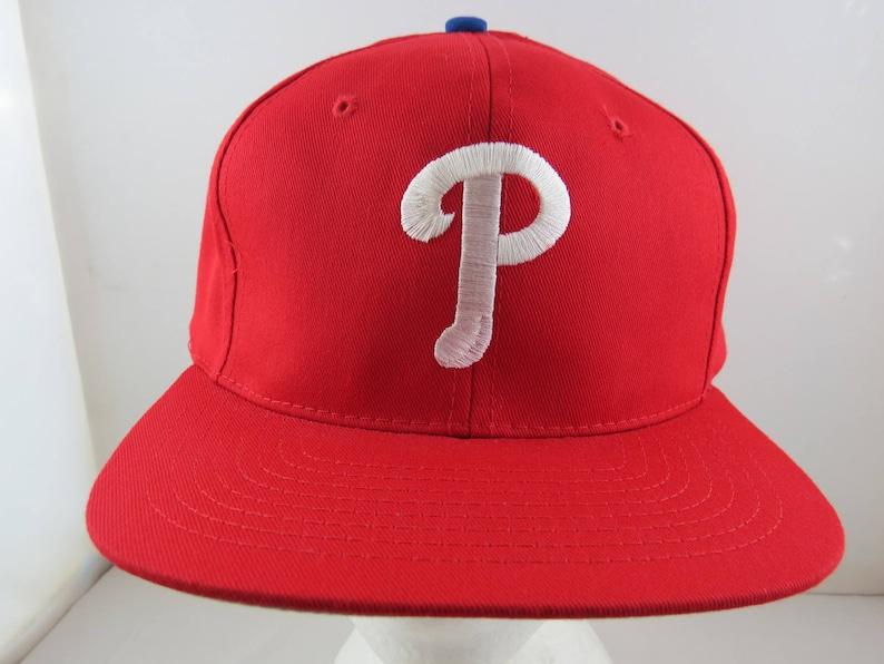 60f0f1dee Philadelphia Phillies Hat (VTG) - By Midway Enterprises - Adult Snapback -  NWT