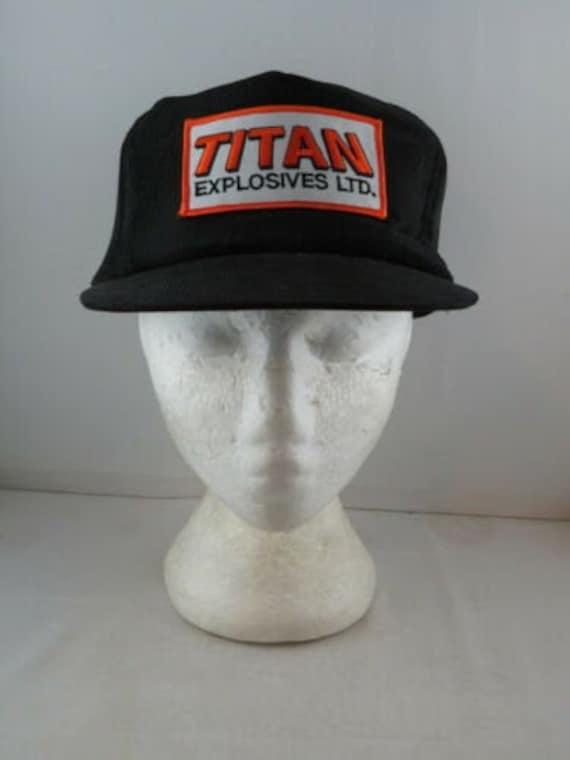Vintage Corduroy Hat - Titan Explosives - Adult Sn