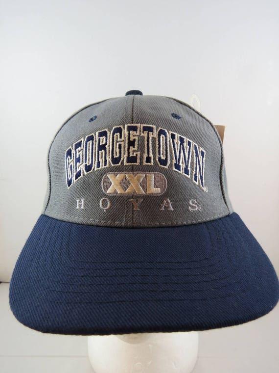 4a49caee911 Georgetown Hoyas Hat (VTG) - By Cap Boy - XXL logo - Snapback