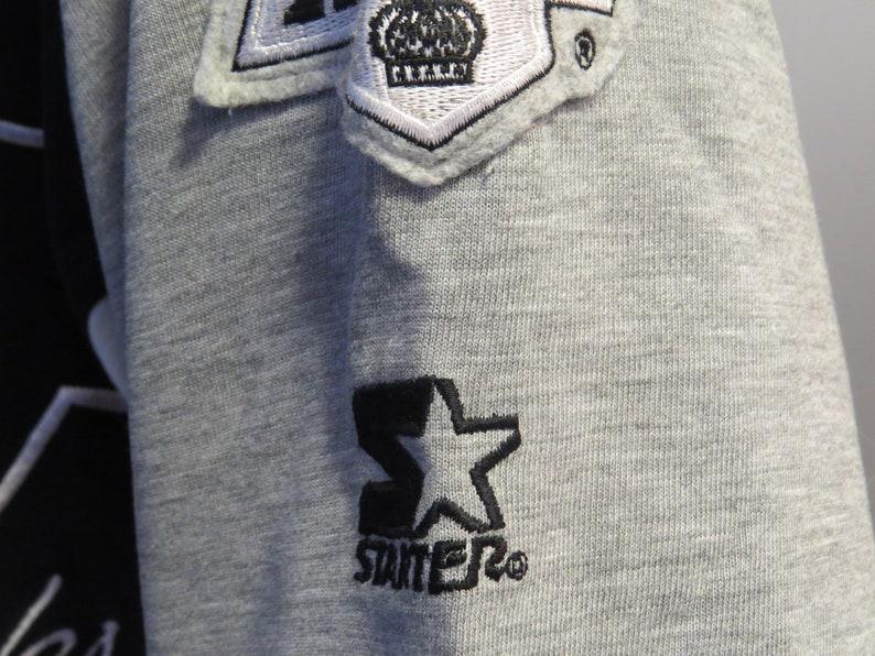 quality design cff63 d4c91 LA Kings Baseball Jersey by Starter - Big K logo Two Tone - Men's Large