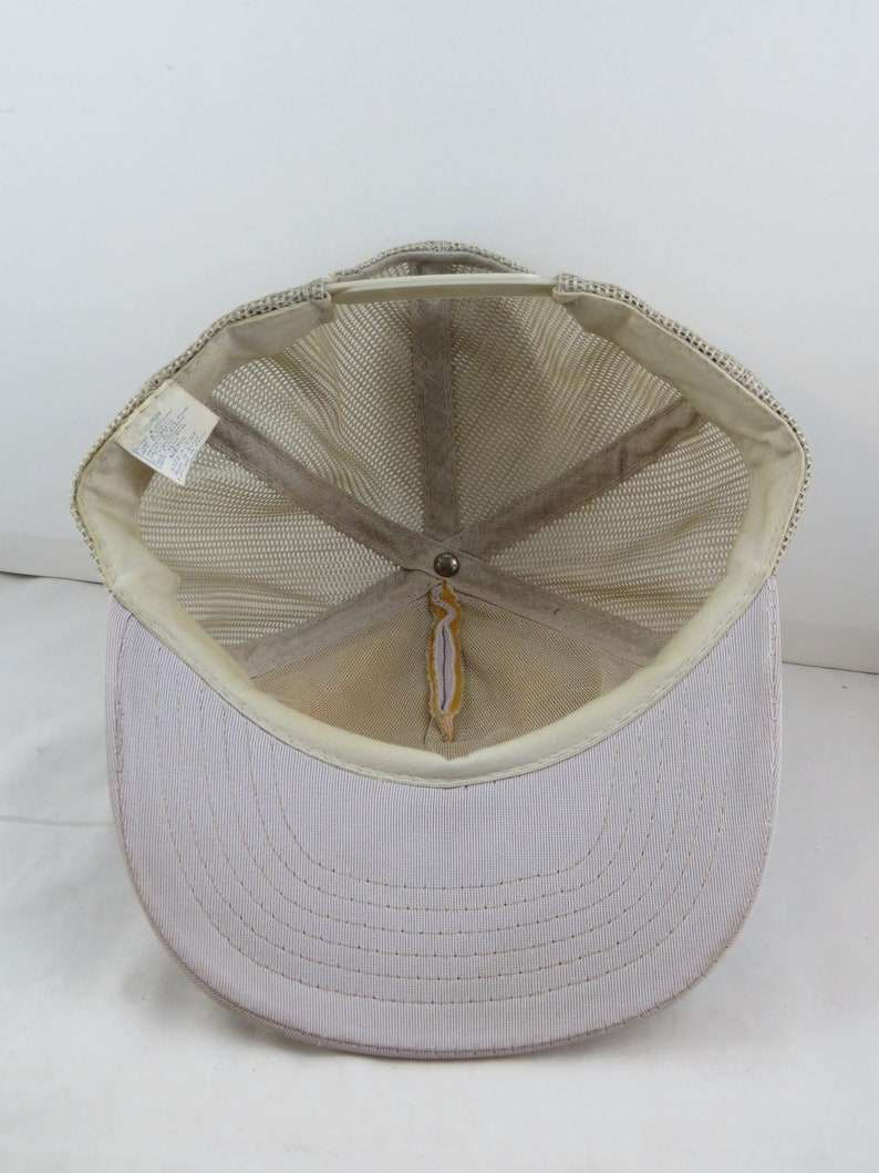 Adult Snapback Vintage Patched Trucker Hat McAllister Trucking Ontario Canada