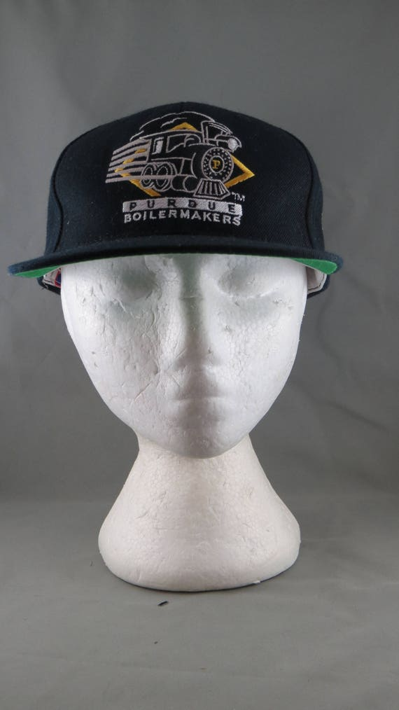 Purdue Boilermakers Hat VTG Train logo Sports  a5e0e7cbac9
