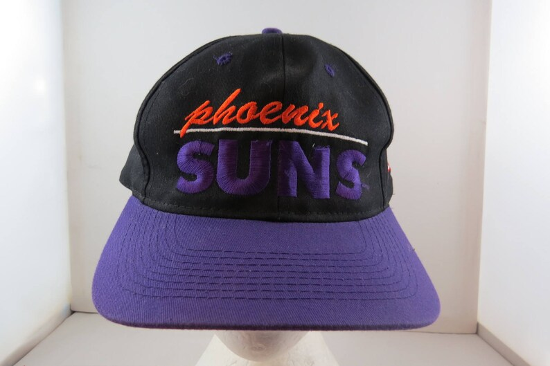 finest selection 089ab 47ed8 Phoenix Suns Hat VTG Block and Script Front By the Game   Etsy