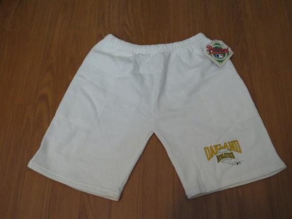 Oakland A's Shorts (VTG) - 1990s Sweat shorts by B