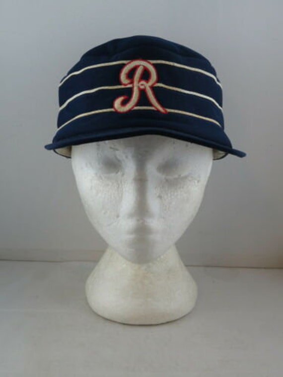 Rochester Red Wings Hat (VTG) - Classic Pill Box -