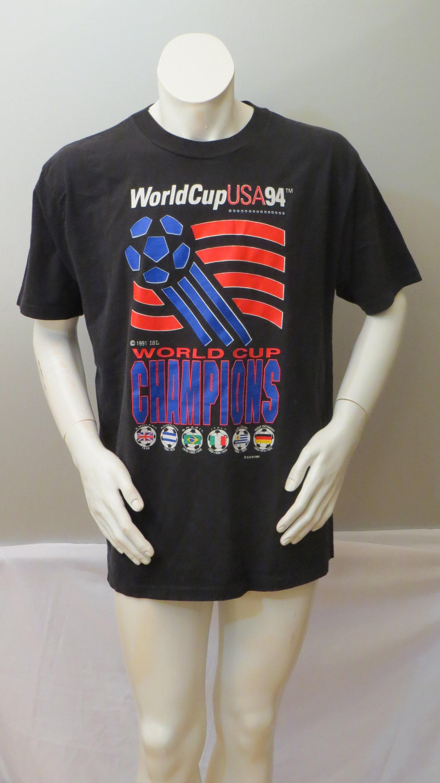 1994 monde Coupe chemise - Classic 94 American Flag (homme) monde tasse Logo - (homme) Flag 410371