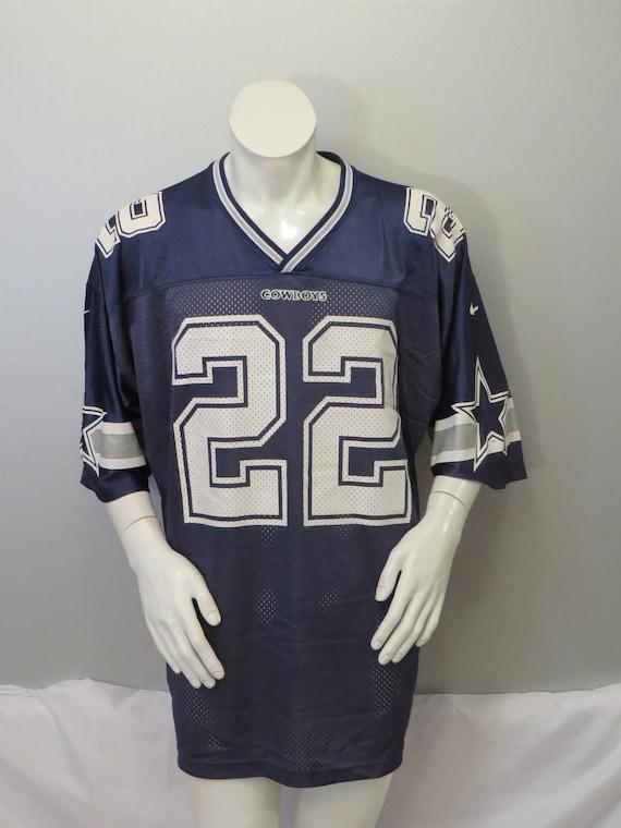 Vintage Dallas Cowboys Jersey by Nike Emmitt Smith 22  99c78fc85