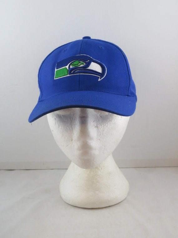 Seattle Seahawks Hat (VTG) - Classic Logo by Twins