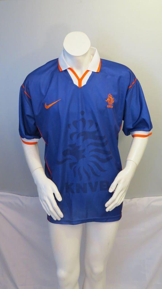 new style 75e0b 21179 Team Netherlands Jersey - 1996 t0 1998 Away Jersey - Nike Premier - Men's XL