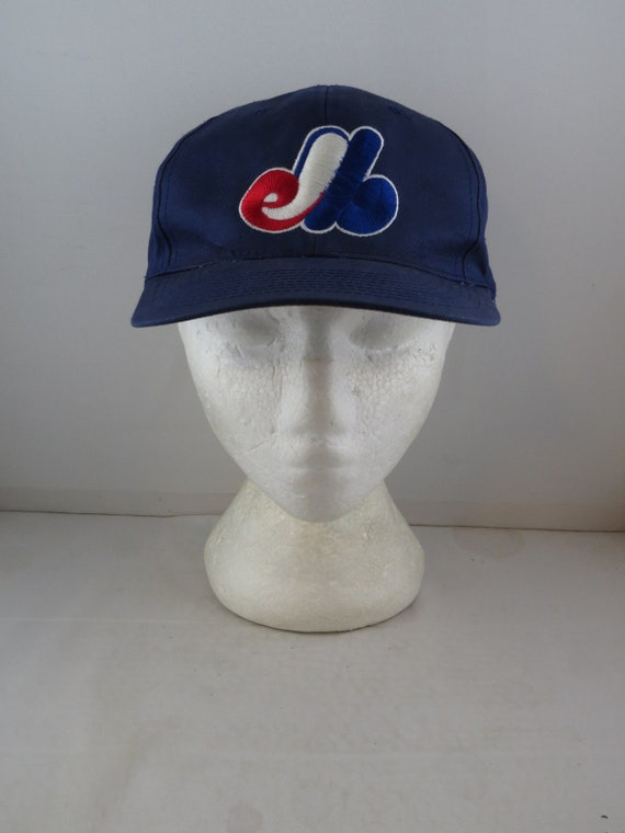 Montreal Expos Hat (VTG) - Dark blue classic by Mi