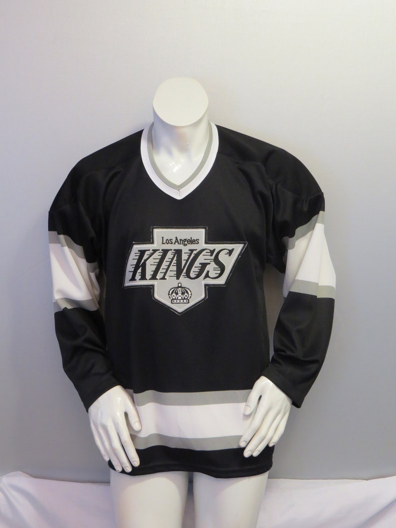 best loved 1e5db da29c Vintage LA Kings Jersey - Away Black by CCM - Men's Medium