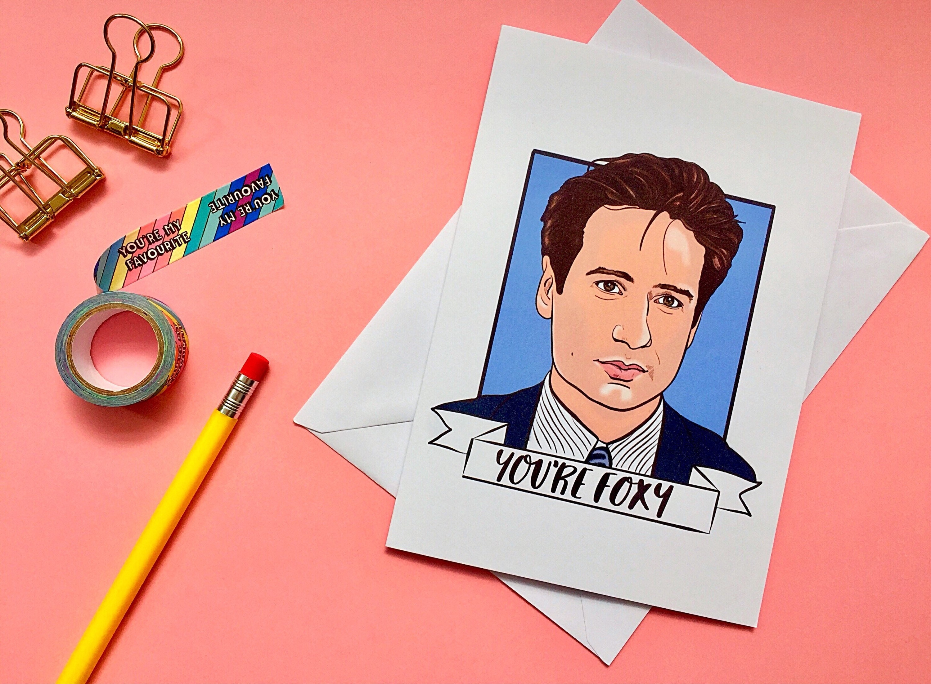 X-Files Scully Mulder A4 stickers set decals